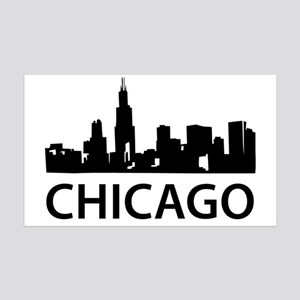 chicago1 35x21 Wall Decal