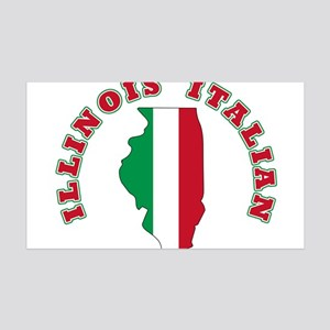 Illinois Italian 38.5 x 24.5 Wall Peel