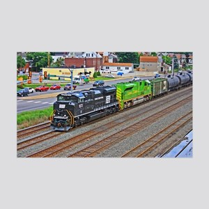 Norfolk Southern Heritage. 35x21 Wall Decal