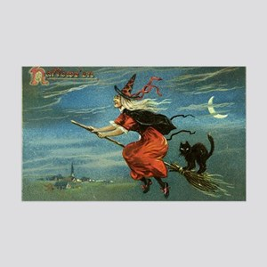 Halloween Witch 35x21 Wall Decal