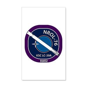 NROL-76 Launch Team 35x21 Wall Decal