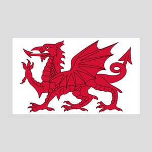 Welsh Dragon Wall Decal