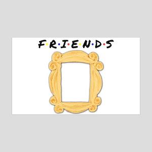 Friends Peephole Frame 35x21 Wall Decal
