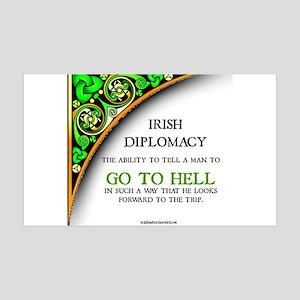 Irish diplomacy Wall Decal