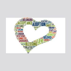 heart fulfilled 35x21 Wall Decal