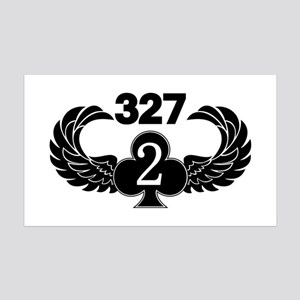2-327 (2 of Clubs-1) 35x21 Wall Decal