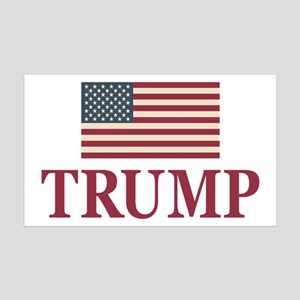 Trump 2016 Flag Wall Decal