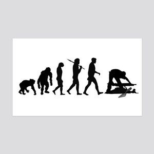 Archaeologist 35x21 Wall Decal