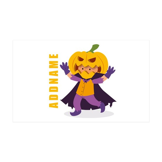Halloween Pumpkin Costume Personalized