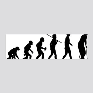 On-Crutches 20x6 Wall Decal