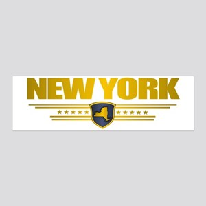 New York Gold Label (P) 20x6 Wall Decal