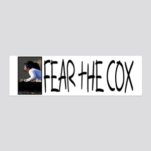 Fear the Cox 20x6 Wall Peel