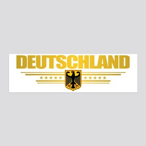 Deutschland (front) 20x6 Wall Decal