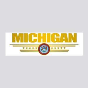 Michigan State Seal 20x6 Wall Decal