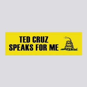 Ted Cruz Speaks For Me Wall Decal