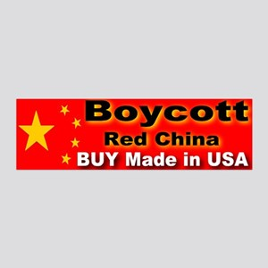 Boycott Red China Buy Made in 20x6 Wall Peel