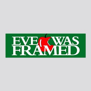 EVE WAS FRAMED 20x6 Wall Peel
