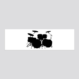 Drums 20x6 Wall Decal