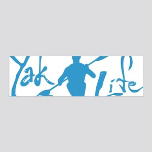 YakLife Logo 20x6 Wall Decal