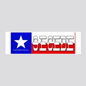 bumper-secede 20x6 Wall Decal