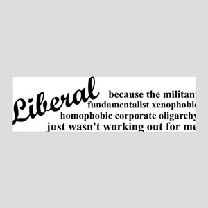 liberalexp 20x6 Wall Decal