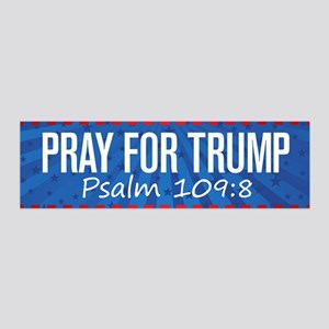Pray For Trump 20x6 Wall Decal
