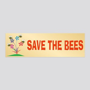SAVE THE BEES 20x6 Wall Peel