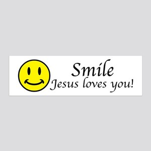 Smile Jesus 20x6 Wall Decal