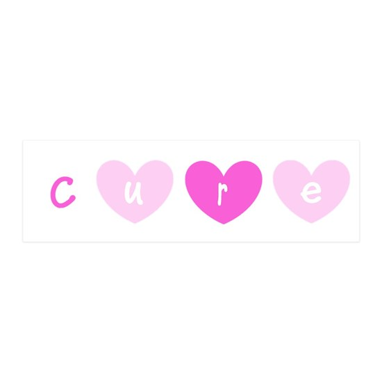 Cure Pink Hearts Breast Cancer 4Lola
