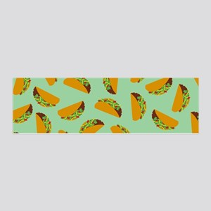 Taco Pattern Wall Decal