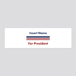 Customized For President Wall Sticker
