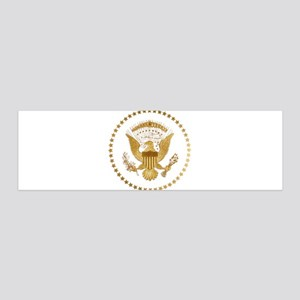 Gold Presidential Seal 36x11 Wall Decal