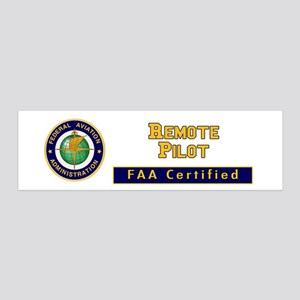 Faa Certified Remote Pilot Wall Decal
