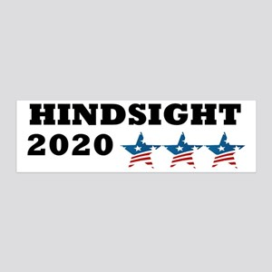 Anti-Trump Hindsight 2020 36x11 Wall Decal