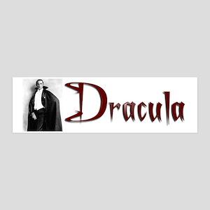 Dracula 36x11 Wall Decal