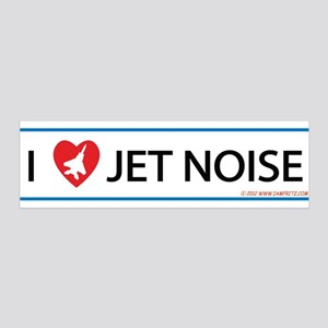 I 3 Jet Noise 36x11 Wall Decal