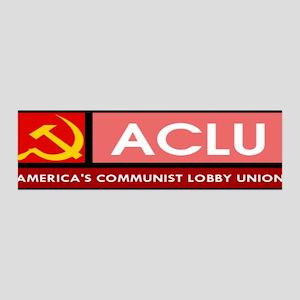 America's Communist Lobby Uni 36x11 Wall Peel