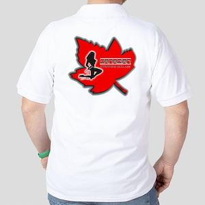 Canadian Strippers Kick Ass 2 Golf Shirt