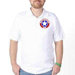 37b2e1db Superhero Men's Polo Shirts - CafePress
