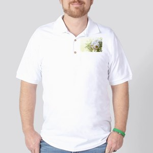 Bouquet of daisies in LOVE Golf Shirt