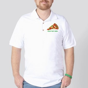 91b908369 Pizza Lover Personalized Golf Shirt