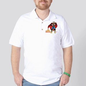 The Mighty Thor Personalized Design Golf Shirt
