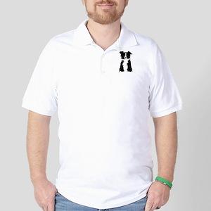 Border Collie Golf Shirt