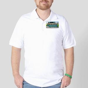 Corgi Pick Me Up! Golf Shirt