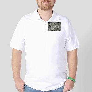 swirl hundred dollar bills Golf Shirt