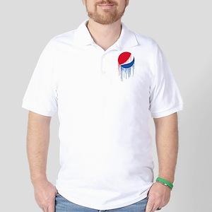Pepsi Varsity Drip Polo Shirt