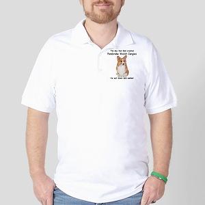 Corgi Golf Shirt