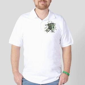 100 Dollar Blot Golf Shirt