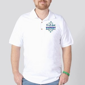 About History Golf Shirt