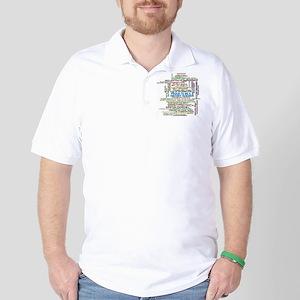 Proud History Teacher Golf Shirt